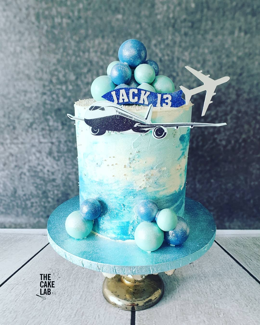 Boeing cake