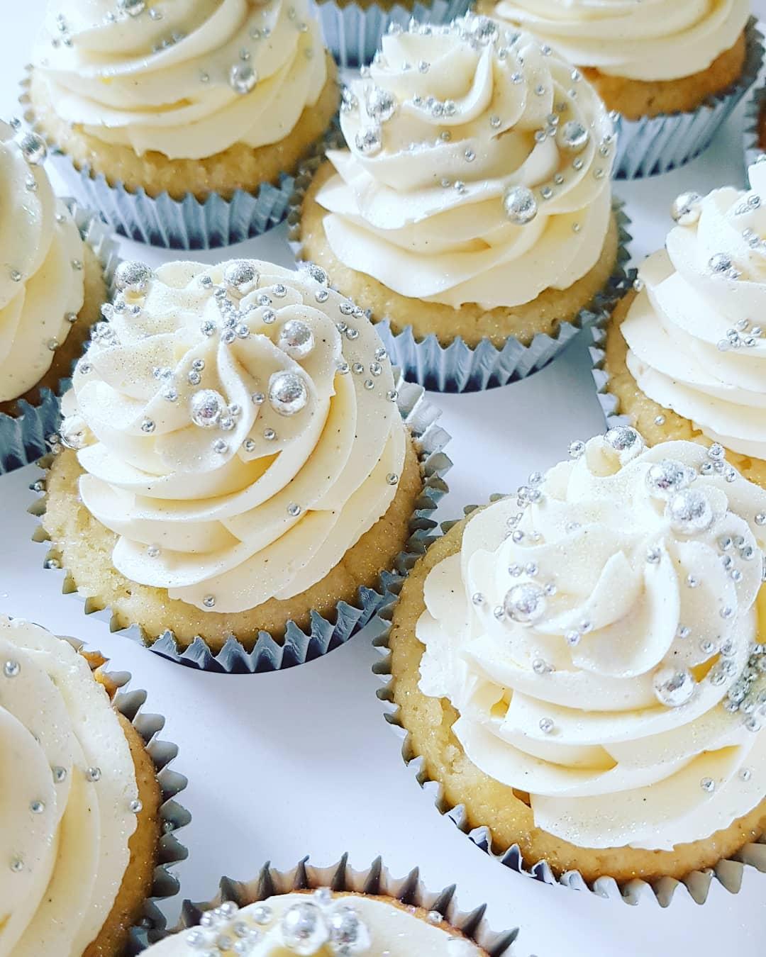 White Diamond Cupcakes