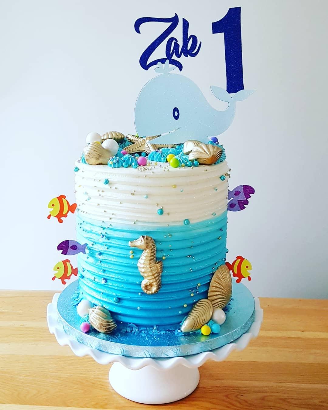 Underwater cake