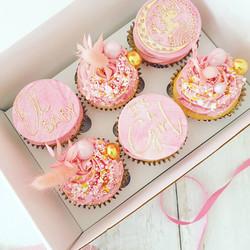 Baby Girl Cupcakes