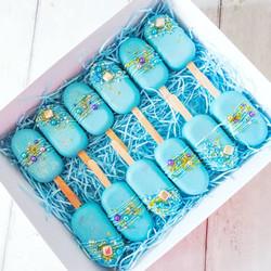Blue Cakesicles