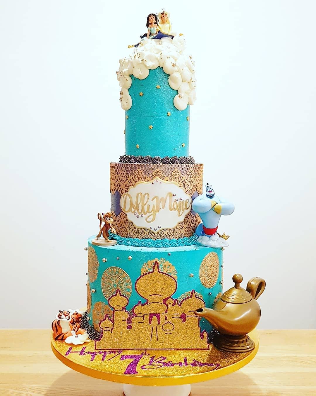 Aladdin themed cake