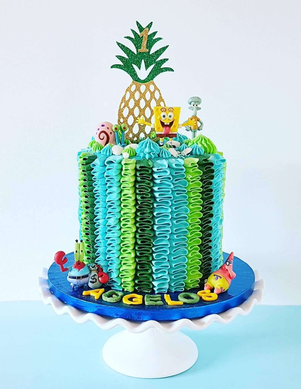 Spongebob Cake 2
