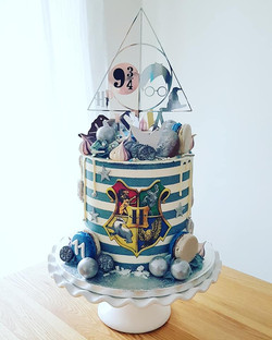 Ravenclaw Harry Potter Cake