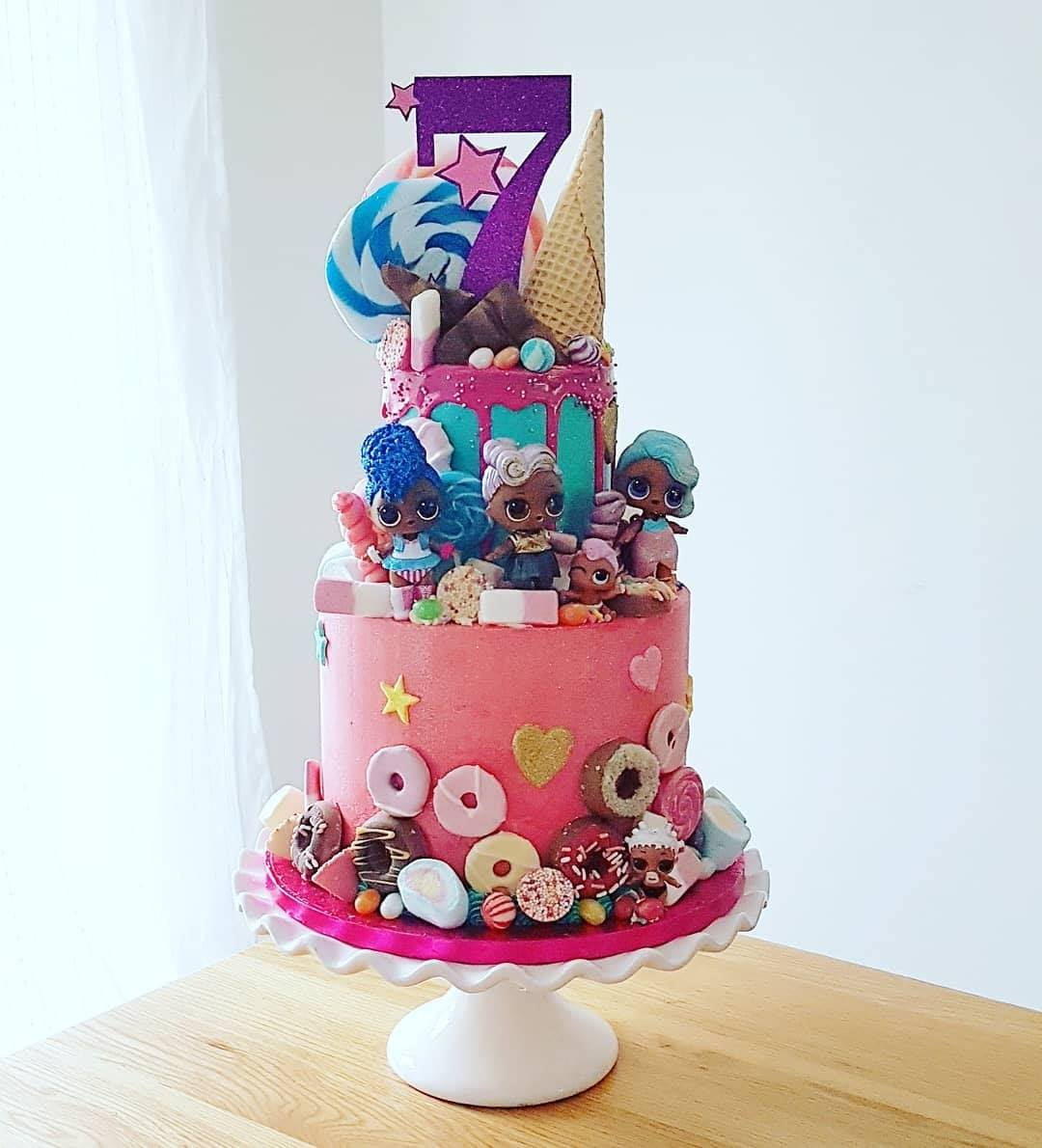 Two Tier LOL Cake