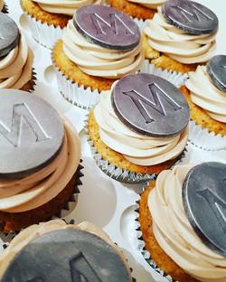 Pecan Praline Magnum Cupcakes