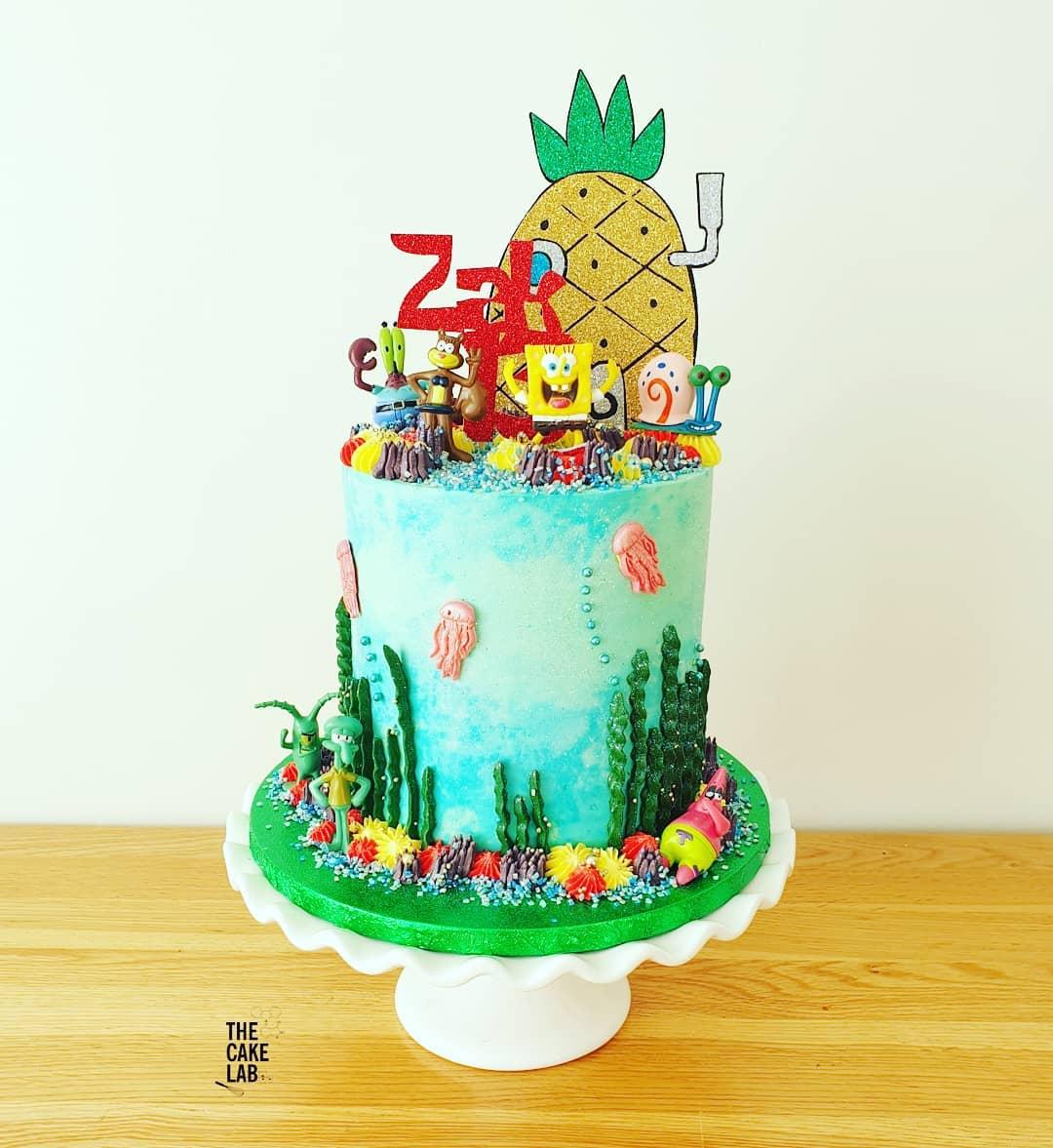 Spongebob cake 1