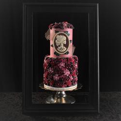 Romantic Rose Wedding cake