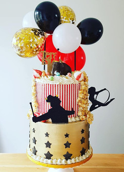 The Greatest Showman cake