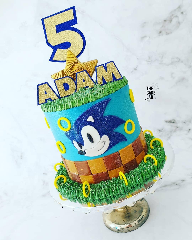 Sonic cake 2