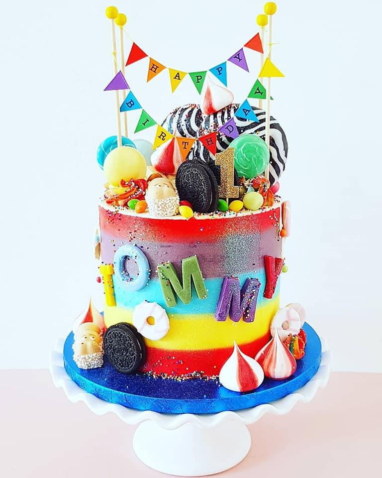 Rainbow Sweetie Cake