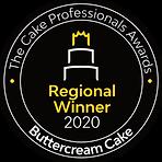 Buttercream Cake - Reigonal Winner - 202