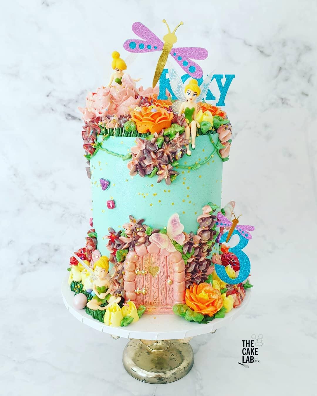 Fairy Door Cake 3