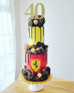 Ferrari Chocolate Overload Cake