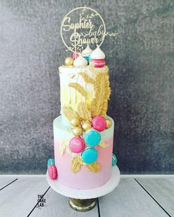 Boho Themed Cake