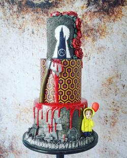 Horror Themed Cake