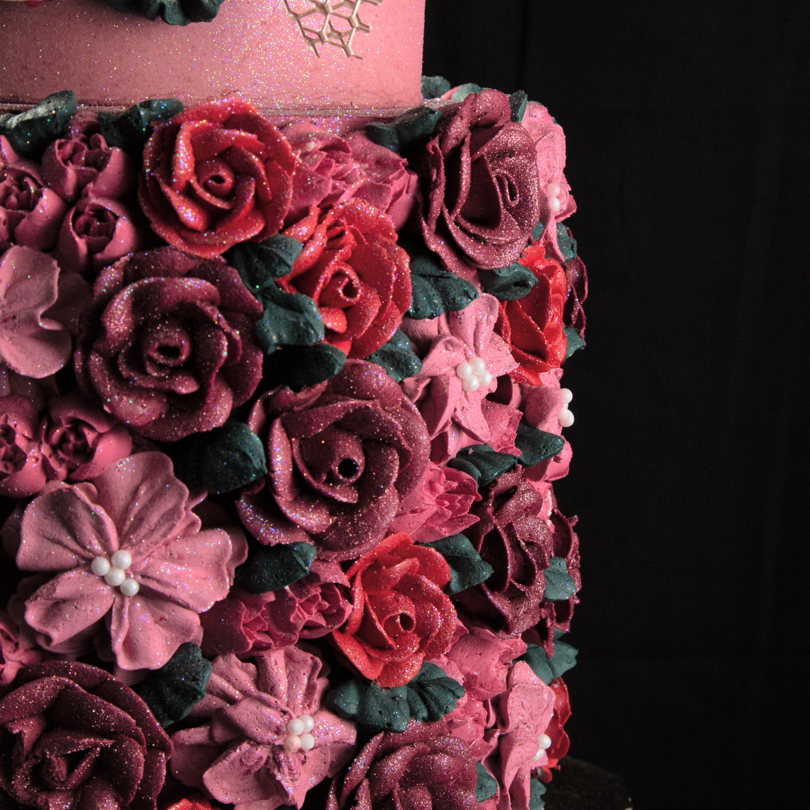 Romantic Rose close up