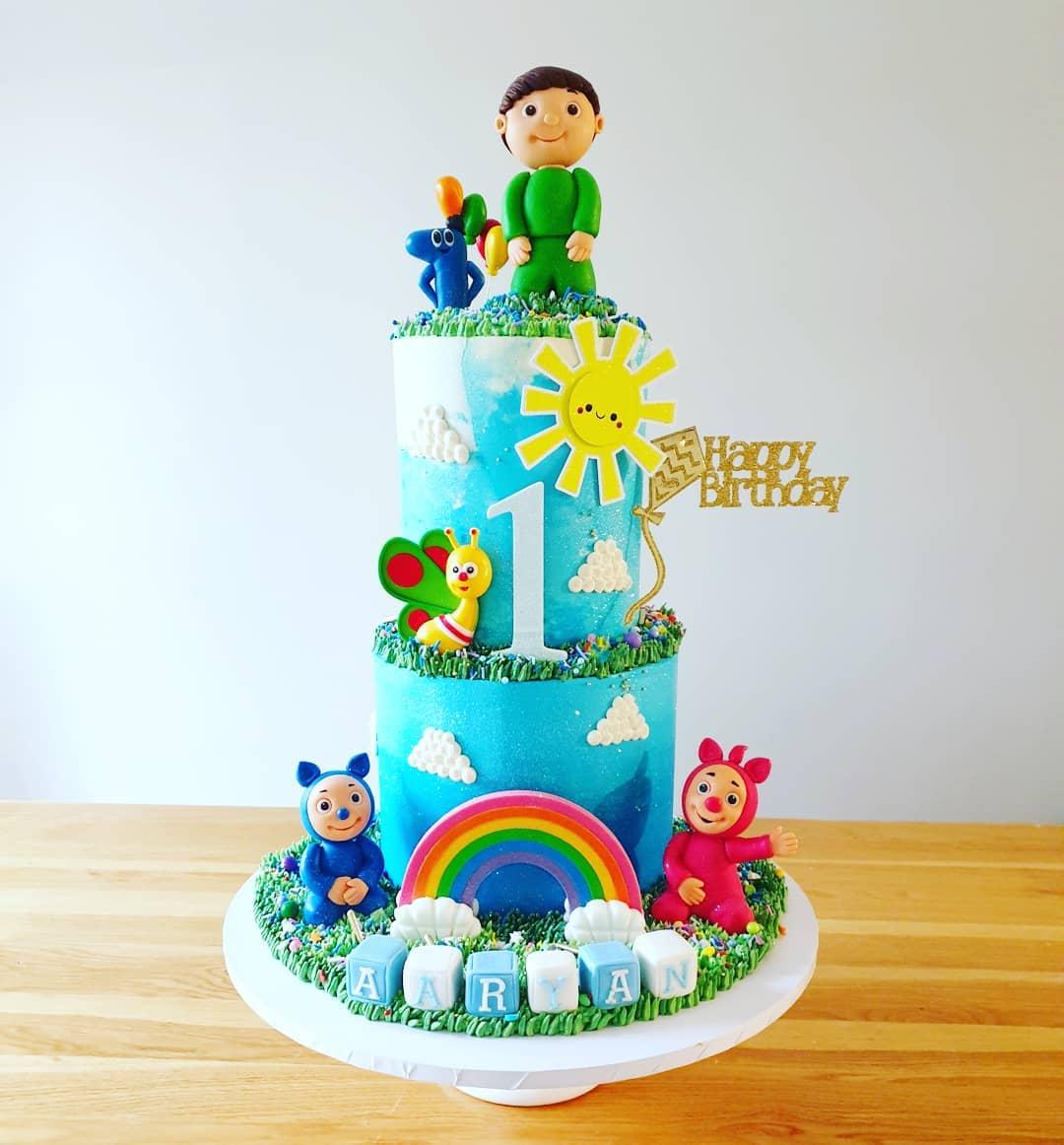 Kids TV themed cake