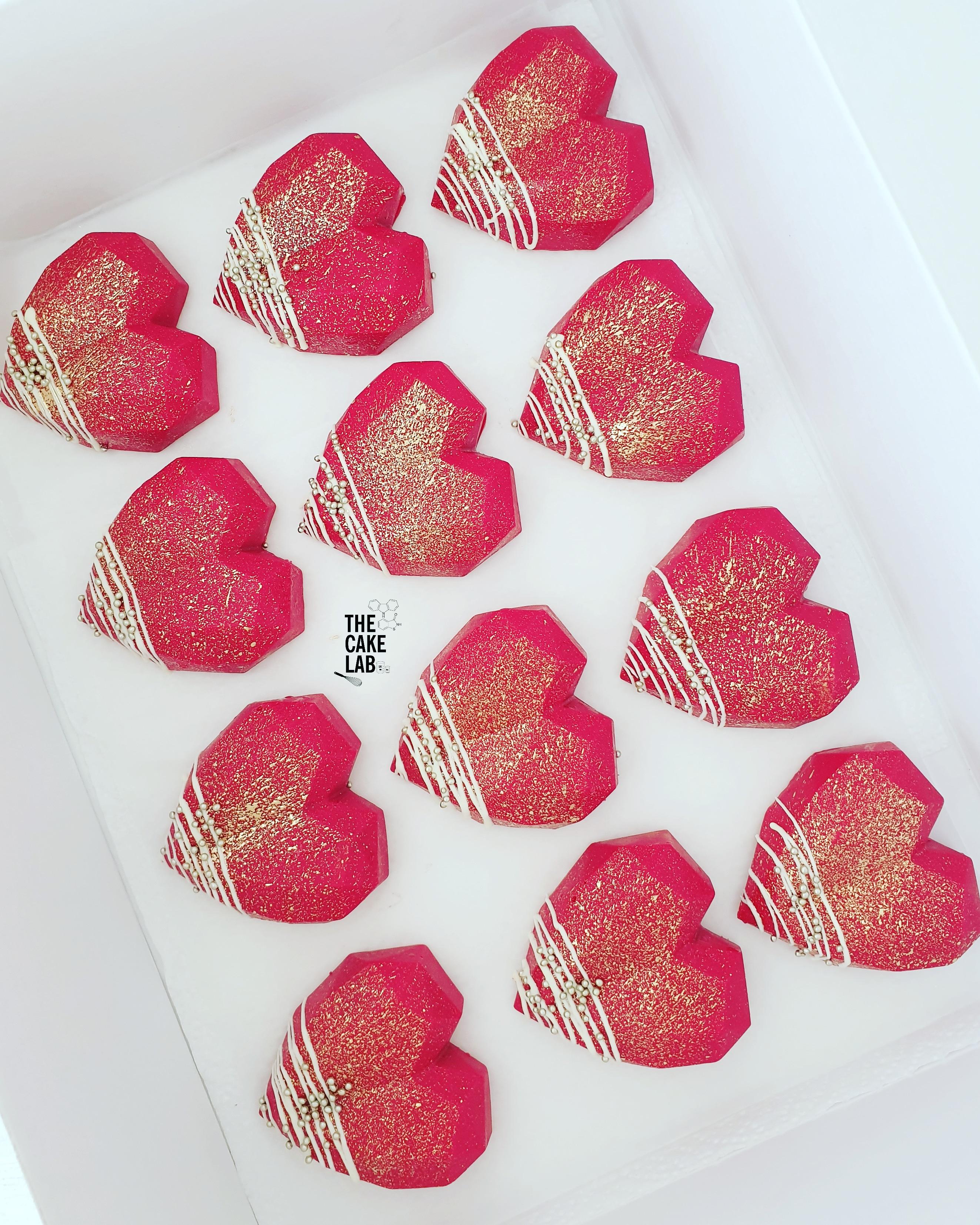 Ruby Cake Gems