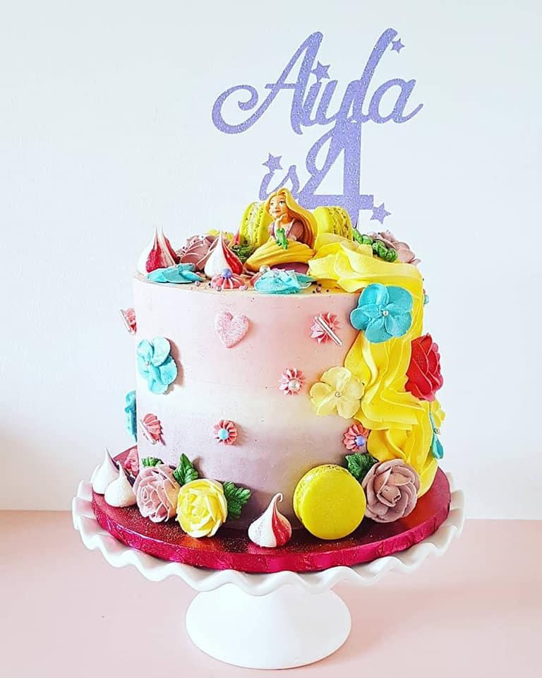 Rapunzel Cake 2