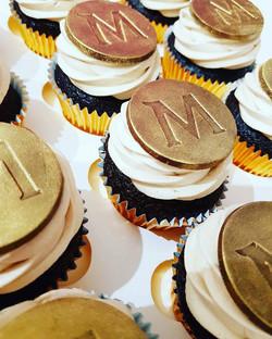 Chocolate Praline Magnum Cupcakes