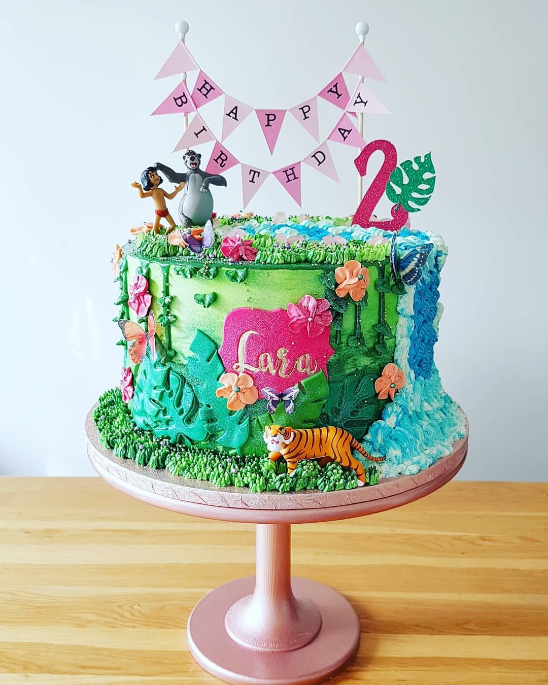 Jungle Book themed cake