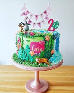 Jungle Book themed cake