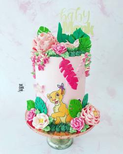 Nala themed cake