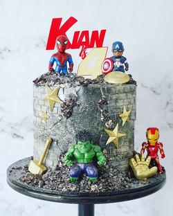 Superhero Cake 3