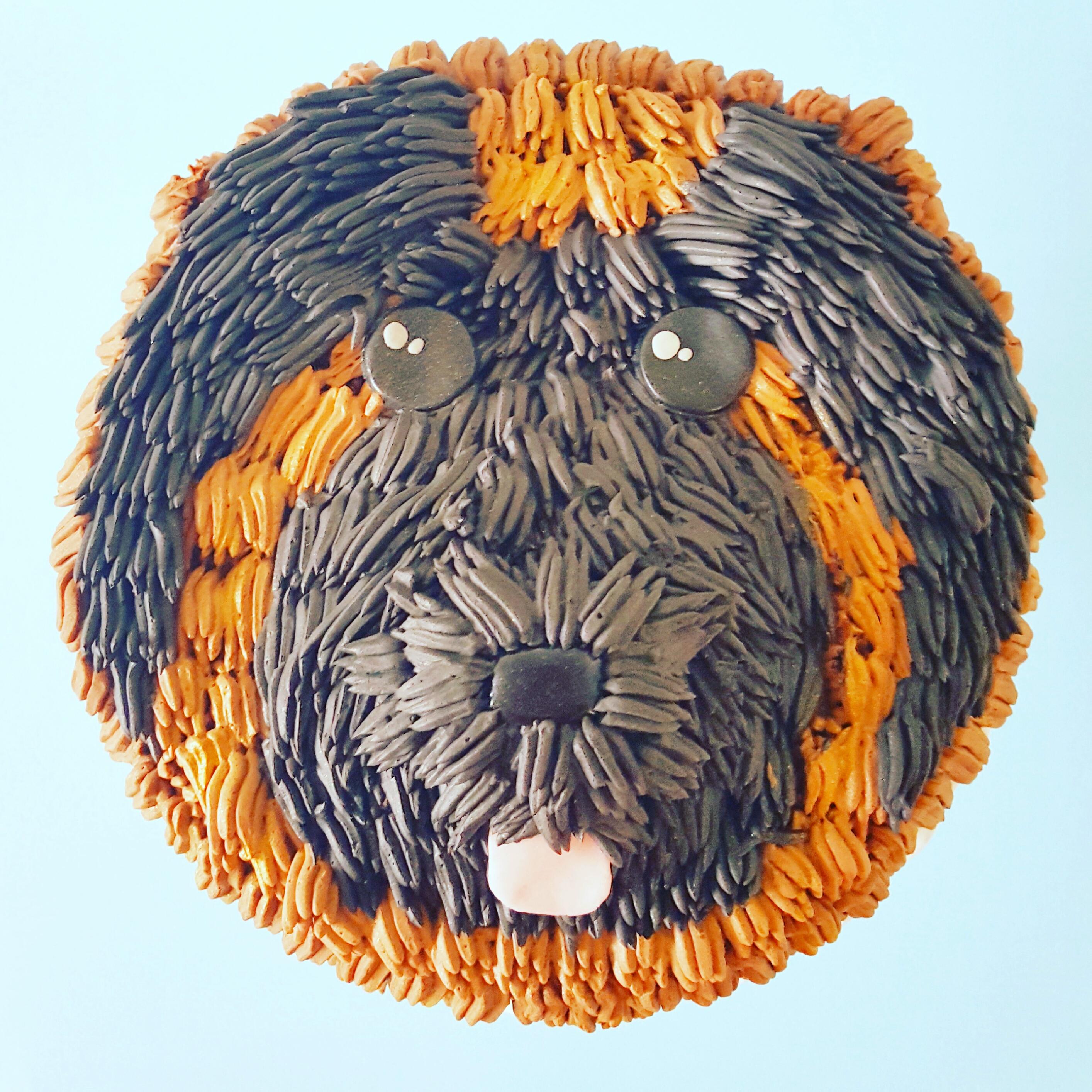 Dog Themed Cake