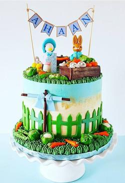 Peter Rabbit Carrot Cake