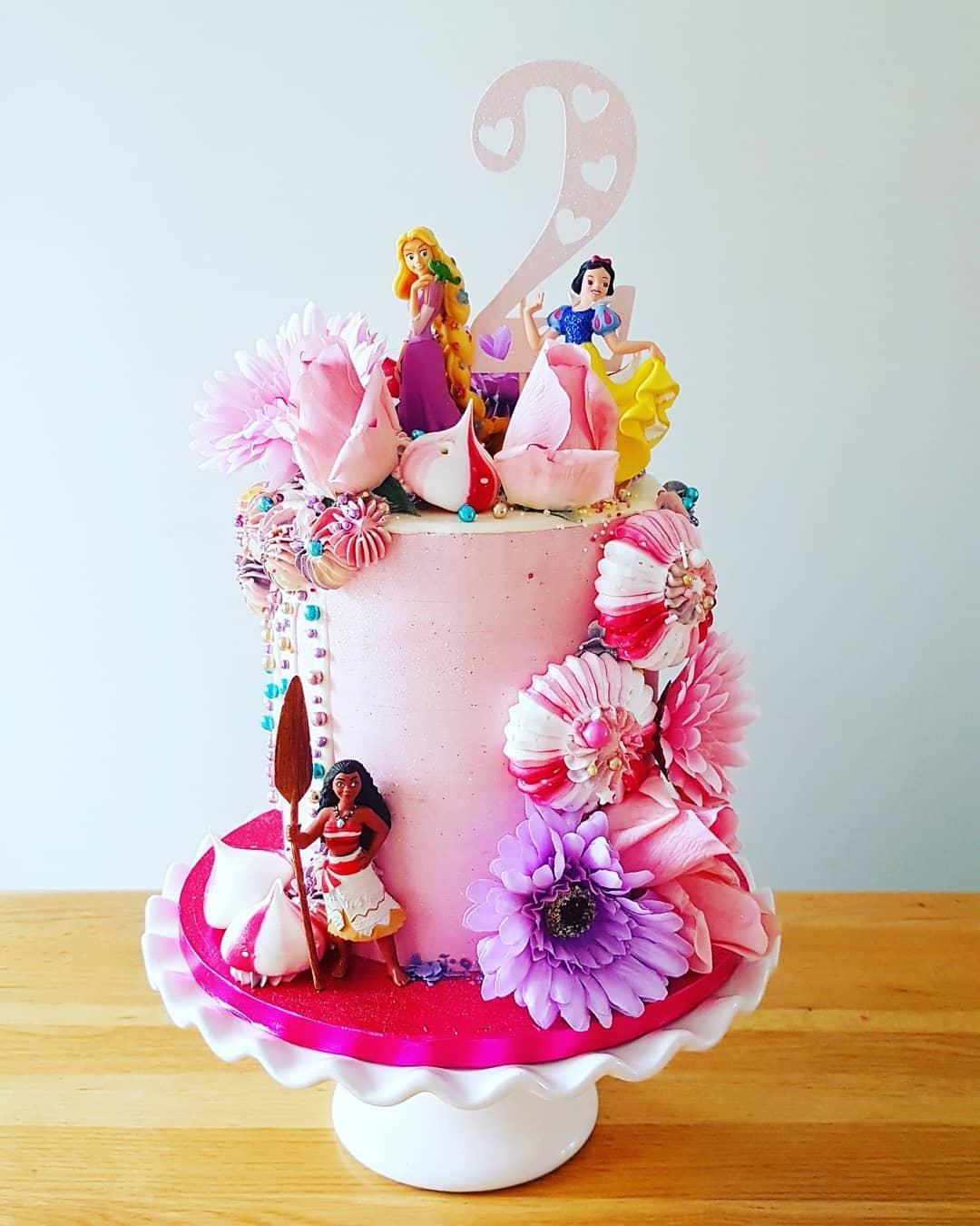 2nd Birthday Princess cake