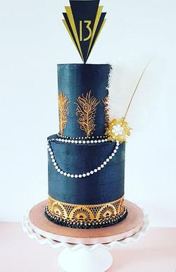 13th Birthday Great Gatsby Cake