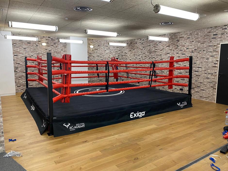 Aménager un espace pour la boxe