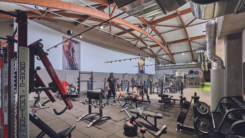 Aménagement d'un espace fitness