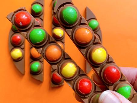Pop it chocolade reep
