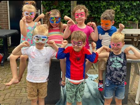 Blog van Miriam van Meervanmir over het superheldenfeest