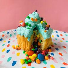 Pinata cupcake trajtatie taart verjaardag