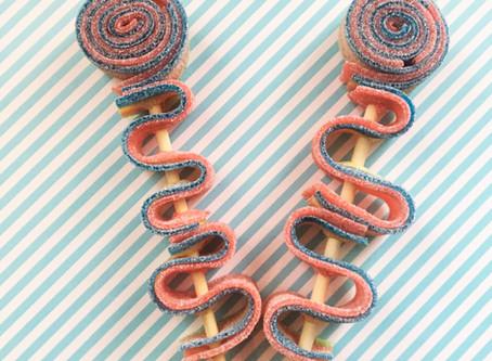 Super makkelijke traktaties: zuremat lollie, speklollie, donuts en snoepijsjes
