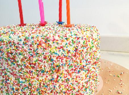 Een discodip taart voor op je verjaardag maak je zo