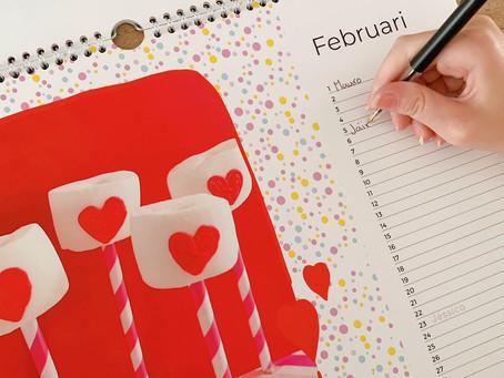 Review: verjaardagskalender van Fotoalbum.nl