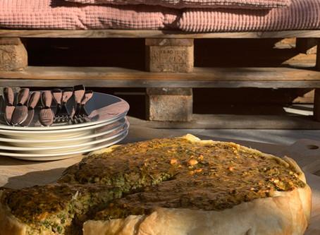 Bak 's een hartige taart: een spinazietaart!