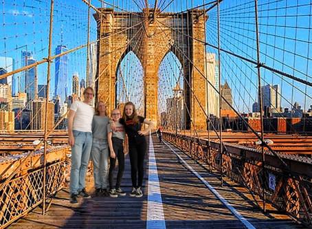 Een dagje New York thuis, een Amerikaans thuisfeestje!
