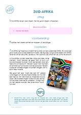 Draaiboek reis om de wereldfeest voor een kinderfeestje thuis. Feestpakket met alle benodigdheden. www.vanKaat.nl