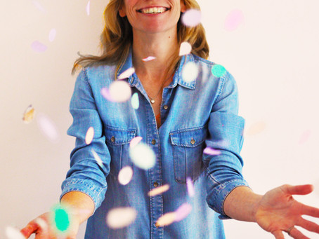 Confetti traktaties en taart op je kinderfeestje
