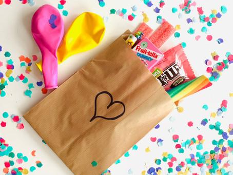 Geef een leuke herinnering als 'uitdeelzakje' op een kinderfeestje