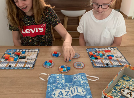 Review bordspel: Azul