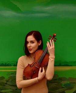 Ana Julija Mlejnik violinist
