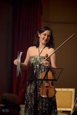 Ana Julija Mlejnik, violinist