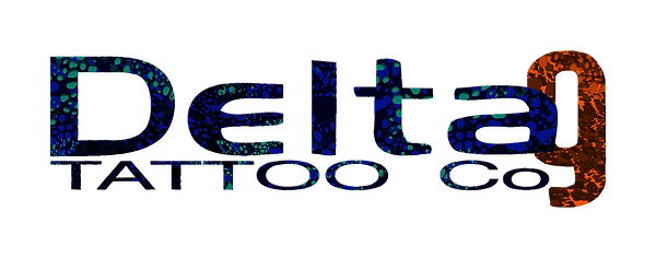 Delta 9 tattoo logo